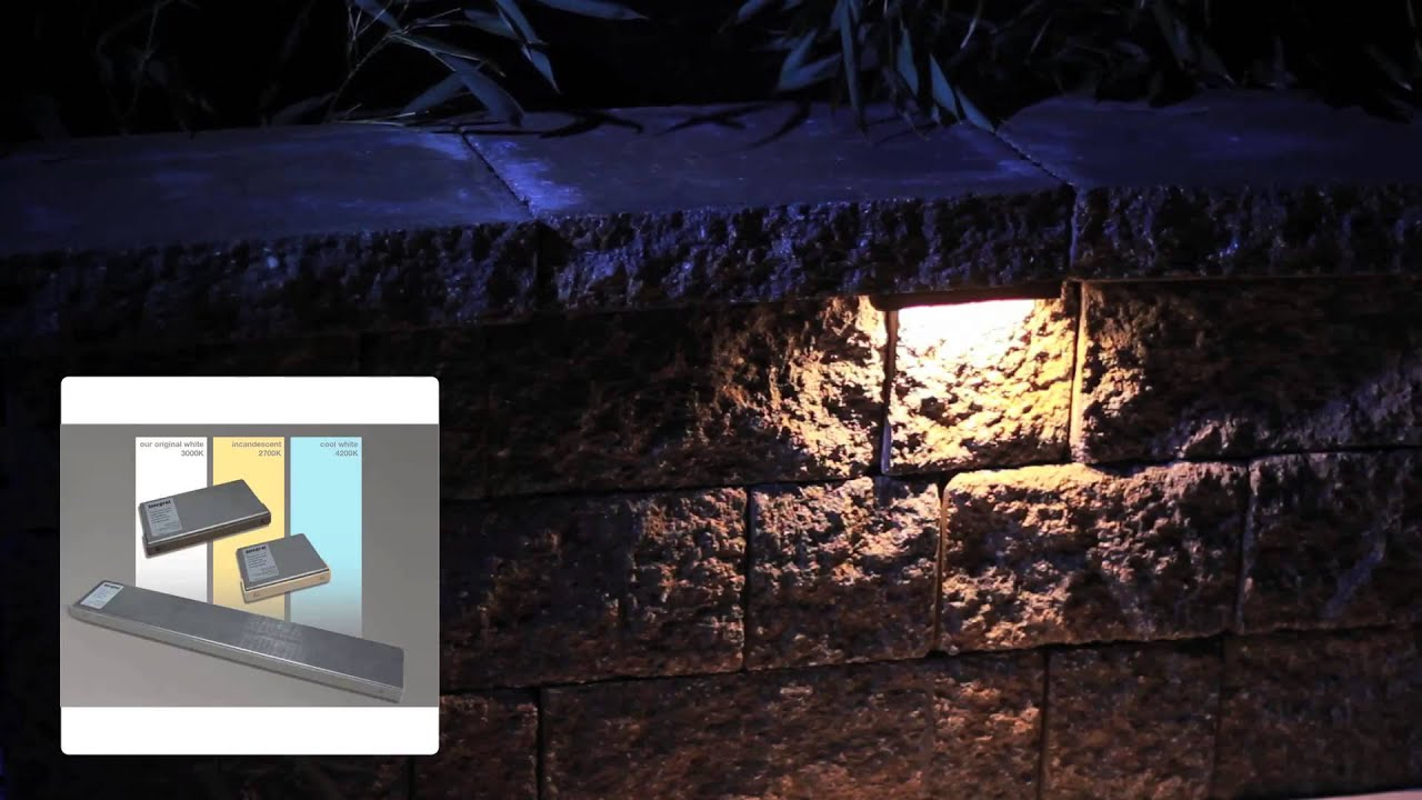integral hardscape lighting