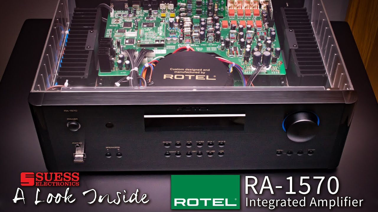 Rotel RA-1570 Black