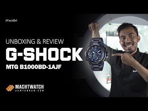 Unboxing & Review Jam Tangan Casio G-Shock MTG-B1000BD-1AJF Series JDM