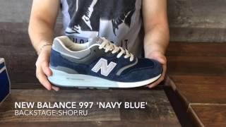 New Balance 997 'Navy Blue'