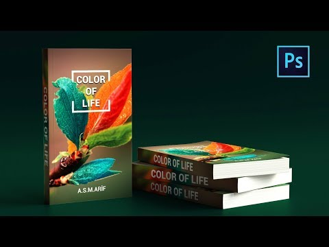 Photoshop Cc Tutorial: How To Design BOOK COVER | How To Mock Up