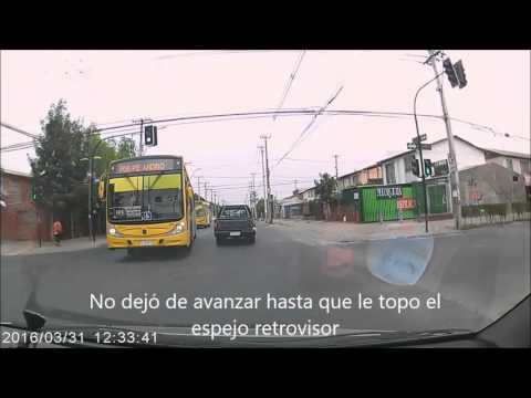 Compilado DashCam (Santiago de Chile 2016 )