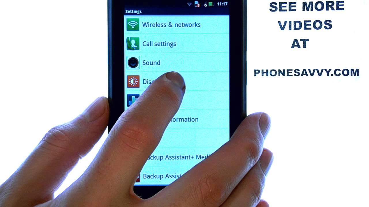 Motorola Droid 4: How Do I Adjust Screen Brightness?