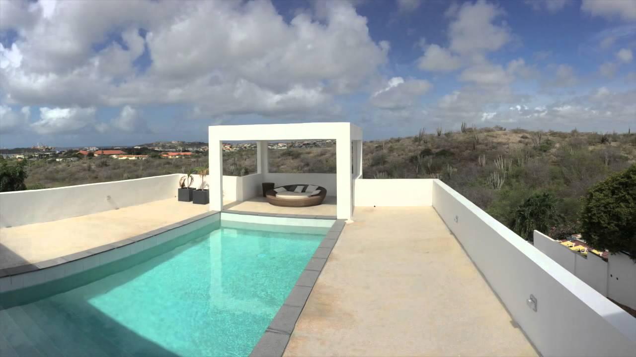 Modern huis te koop op Jan Sofat Curacao  YouTube