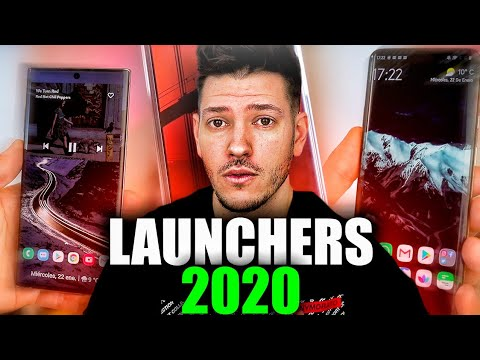 LOS MEJORES LAUNCHERS ANDROID Para 2020!!!!
