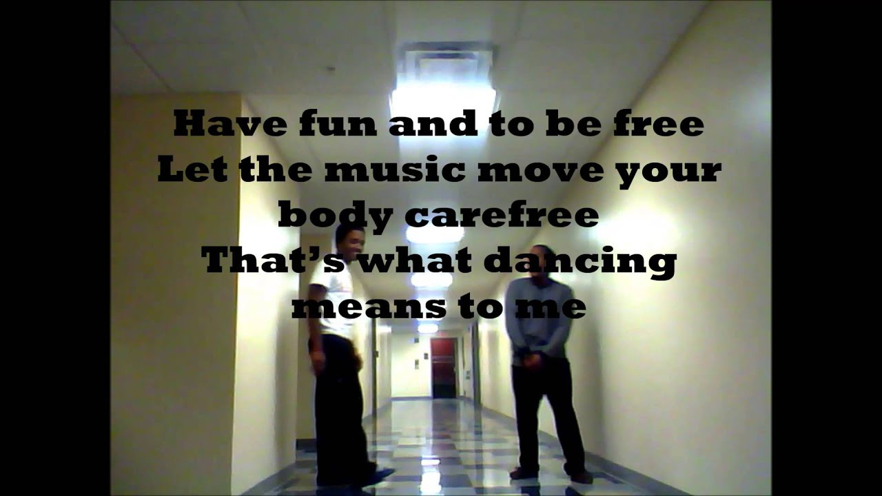 What dance means to me