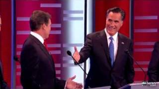 Mitt Romney Offers Rick Perry $10,000 Bet: ABC News/Yahoo News Republican Debate