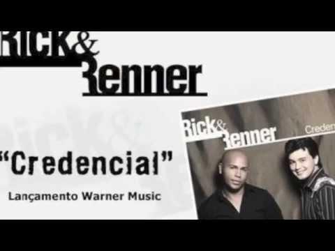 Credencial - Rick e Renner