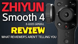 Zhiyun Smooth 4 3-Axis Gimbal REVIEW for your smartphone
