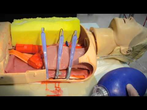 thoracotomy simulation youtube