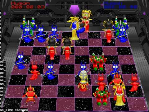 Battle chess 4000 checkmate queen youtube for Battle chess