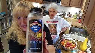 THE CUTEST MOTHER DAUGHTER COOKING VIDEO! VEGAN/VEGITARIAN RECIPE.... ROASTED VEGGIE MEDLEY 💖