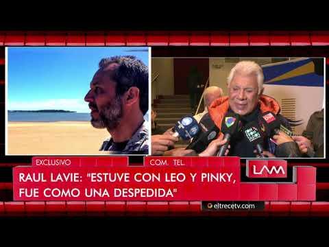 Raúl Lavié habló a horas de haber despedido a su hijo que luchaba contra el cáncer