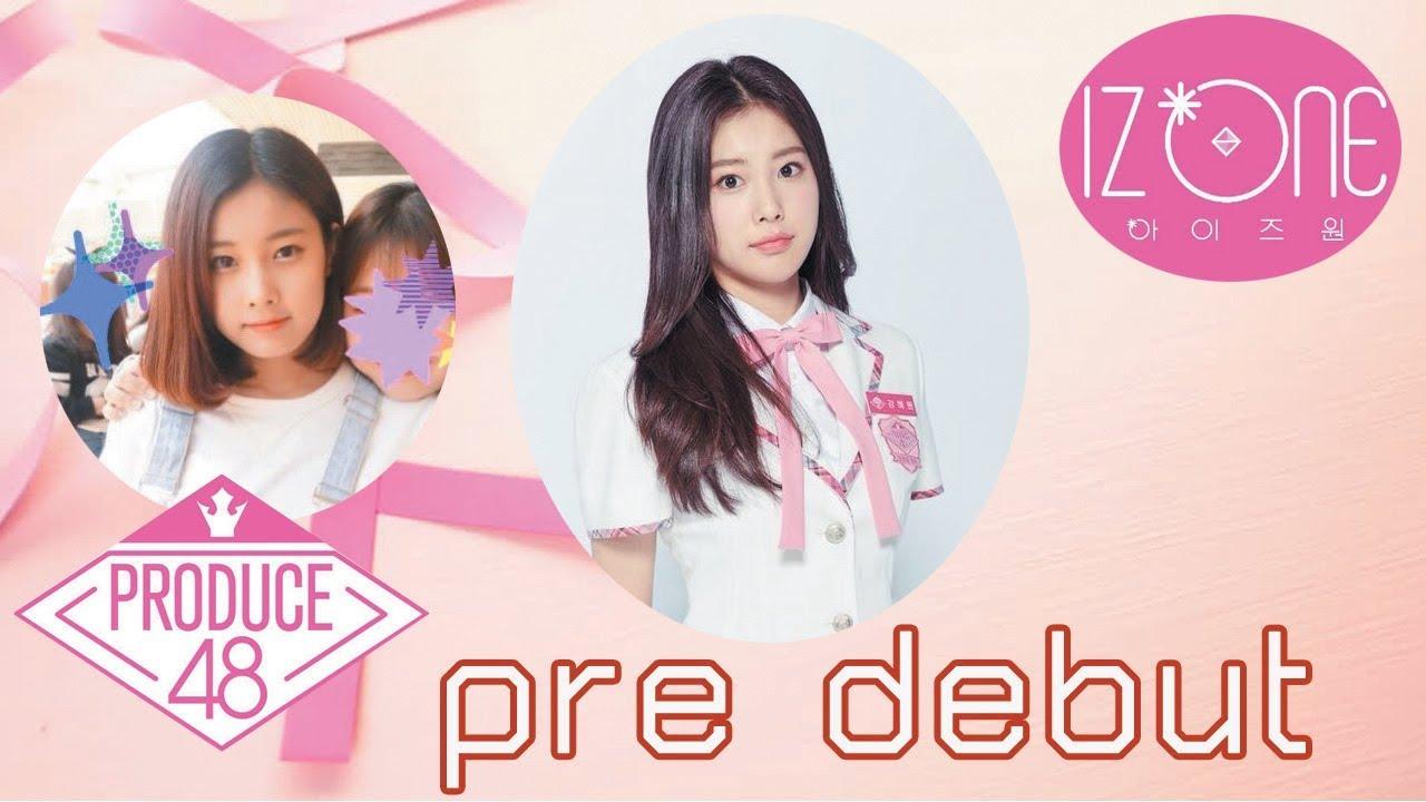 Pre debut IZONE 강혜원 Kang Hyewon - YouTube