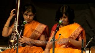 Vocal Jugalbandi: the entwined twins of music: by Dr. Abha and Vibha chaurasia