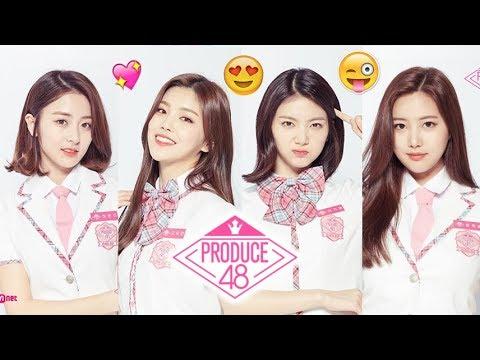 PRODUCE 48 Candidates Profile Information (Korean ver )