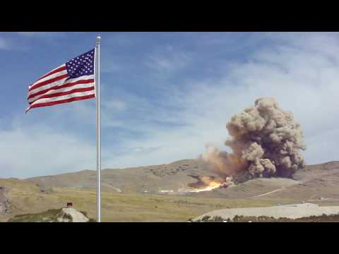 Ares rocket test - September 10, 2009