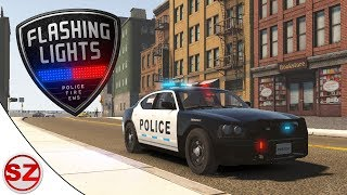 Flashing Lights #1 - Zostałem policjantem!