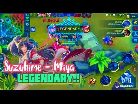 Legendary! Miya Suzuhime - Mobile Legends 2019
