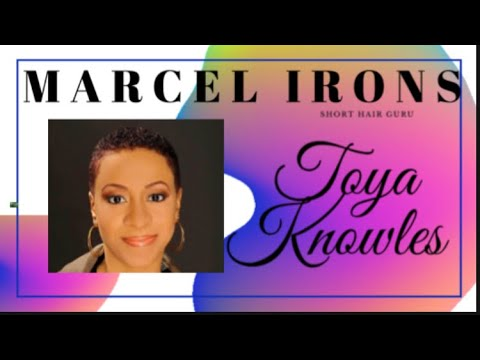 Curling short hair with Marcel irons