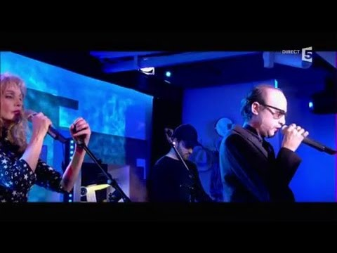 Arielle Dombasle & Nicolas Ker, en Live - C à vous - 11/01/2017
