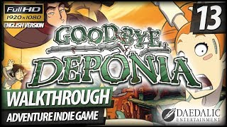 Goodbye Deponia Walkthrough - Part 13 Escape Plan™ By Rufus (no Commentary)