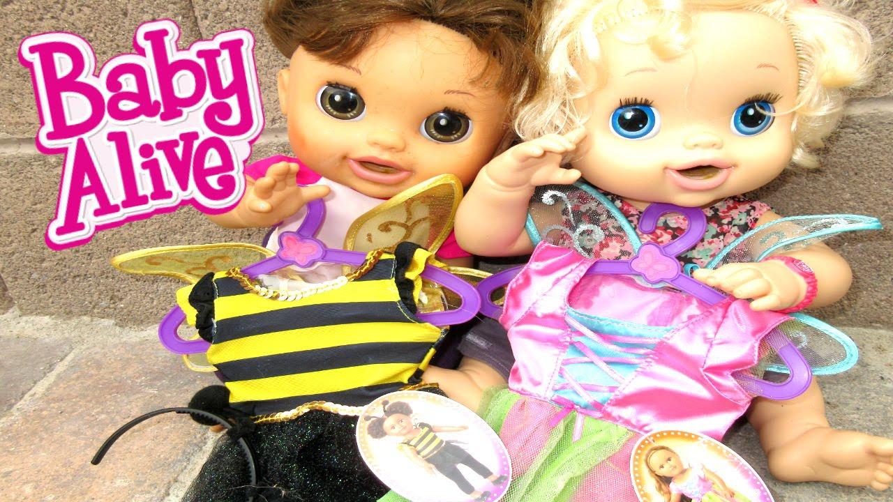 baby alive halloween costumes!!!!! ahhhhhhhhhh!!!! - youtube