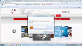 طريقة تغيير كلمة السر للروتر تي اي داتا www es2al mgrab com
