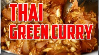 How To Prepare Thai Green Curry Chicken For Your Sunday Dinner Recipe  By | Chef Ricardo Cooking