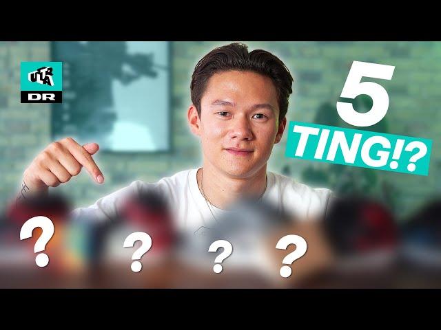 Mathias Ong: 5 ting, som jeg IKKE kan undvære!   Campen ekstra   Ultra