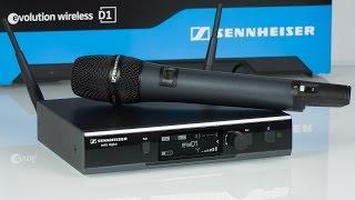 видео Вокальная радиосистема с микрофоном