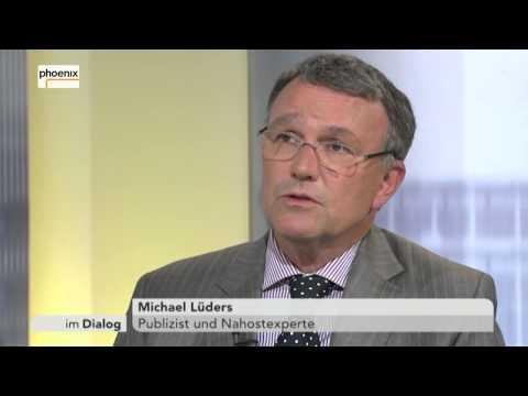 Im Dialog: Alfred Schier mit Michael Lüders am 29.05.15