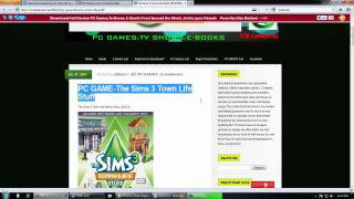 The Sims 3 Town Life Stuff pc game 2011 expansion Full and Free download,Only 3 links!