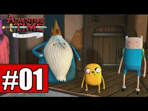 Adventure Time Finn and Jake Investigations Walkthrough Part 1 Gameplay Lets Play