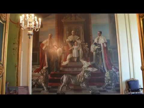 Christianborg Royal Reception Rooms - Copenhagen DK - July 11, 2013