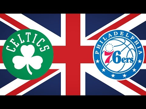 The Celtics & Sixers Do British Things In London