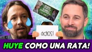 PABLO IGLESIAS DEJA LA POLÍTICA! 😝 y VOX se SALE CON LA SUYA con EL CARTEL DE LOS MEN*S! 😁