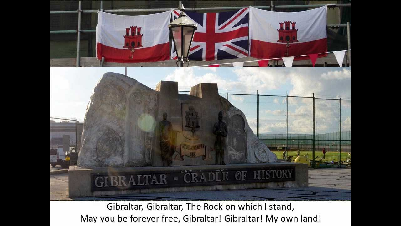 Gibraltar National Anthem with Lyrics