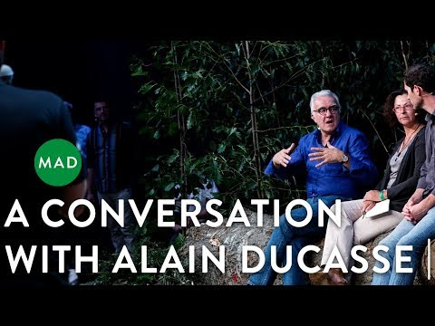 Alain Ducasse in Conversation with David Chang, Daniel Patterson, and René Redzepi