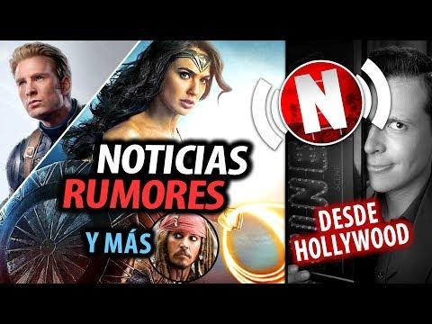 Noticias y Rumores de WONDER WOMAN 1984 y AVENGERS 4 - Piratas sin Depp - Bohemian Rotten