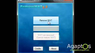 How to remove WAT?