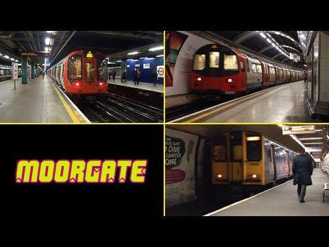 Moorgate Station : Underground and National Rail ( London )