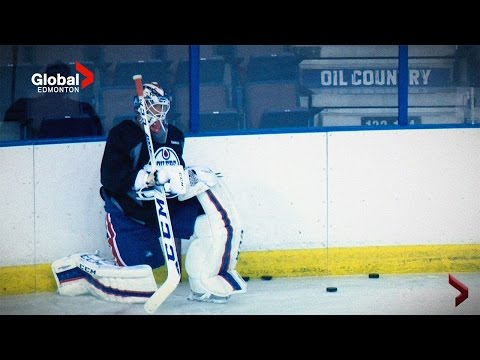 Global News Edmonton (Goalie Situation) September 28, 2015