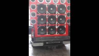 9 Eros Hammer 5.2K 15 Polegadas 2600W RMS www.somautomotivobrasil.com.br