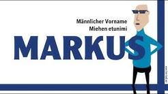 Markus, finnischer Vorname Markus. Namenstag, nimipäivä