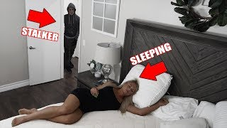 We Found a STALKER in her HOUSE (Hidden Camera)