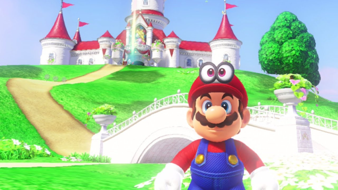 Super Mario Odyssey Peach Castle