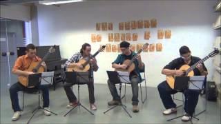 Frevo Fugato ( Edmundo Villani Côrtes) - Grupo ViolãoBrasil
