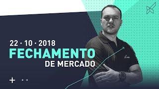 Fechamento de Mercado com Leandro Martins modalmais 22.10.2018
