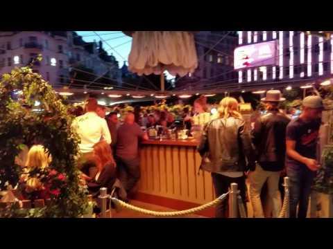Stureplan on a Friday summer night; Stockholm, Sweden
